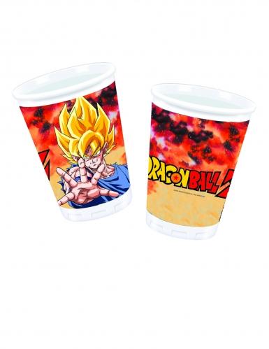 8 plastic Dragon Ball Z™ bekers