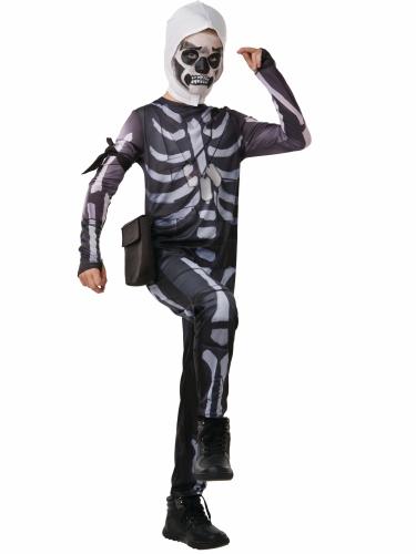 Fortnite™ Skull Trooper kostuum voor tieners-1