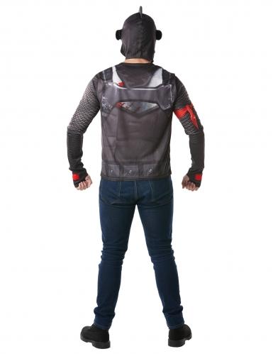 Black Knight Fortnite™ t-shirt en helm voor volwassenen-1