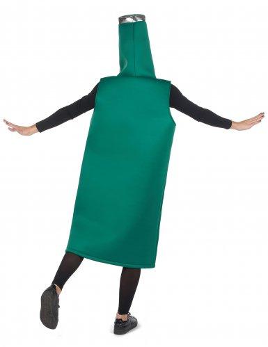 Groen bierfles kostuum voor volwassenen-2