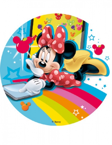 Eetbare Minnie Mouse & Friends™ taartdecoratie
