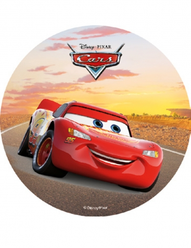 Eetbare Disney™ Cars™ schijf decoratie