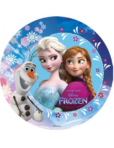 Eetbare Frozen™ decoratie schijf