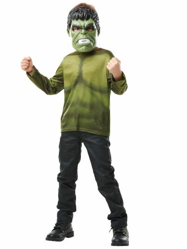 Hulk™ t-shirt met masker voor kinderen-1