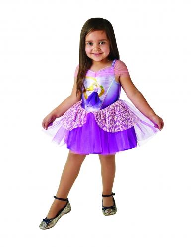 Prinses Raponsje™ ballerina kostuum voor meisjes-2