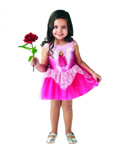 Roze prinses Aurora™ ballerina kostuum voor meisjes-2