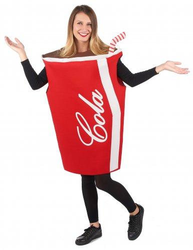 Cola beker kostuum voor volwassenen-5