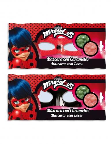 Ladybug™ Cat Noir masker met snoep-1