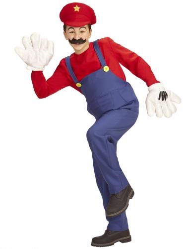 Klassieke rode loodgieter outfit voor kinderen-1