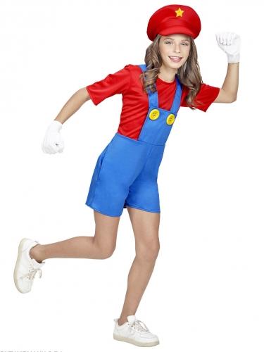 Loodgieter videospel kostuum voor meiden-1