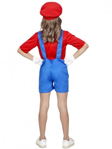 Loodgieter videospel kostuum voor meiden-2