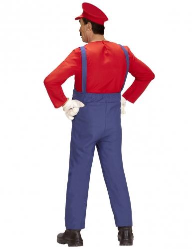 Super loodgieter kostuum voor mannen-2