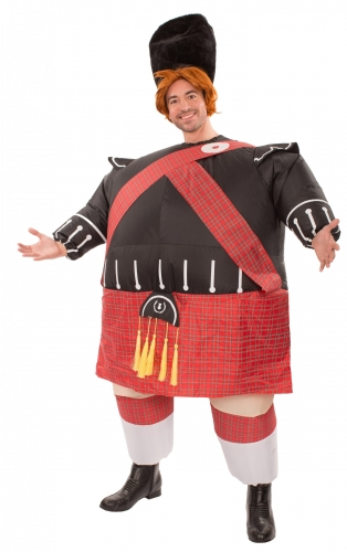 Opblaasbaar Schots kostuum voor volwassenen