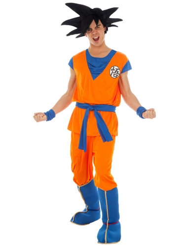 Goku Saiyan Dragon Ball Z™ kostuum voor volwassenen