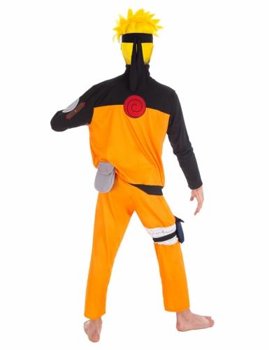 Zwart en oranje Naruto™ kostuum voor volwassenen-1