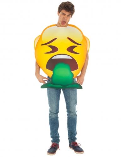 Overgevende Emoji™ kostuum voor volwassenen