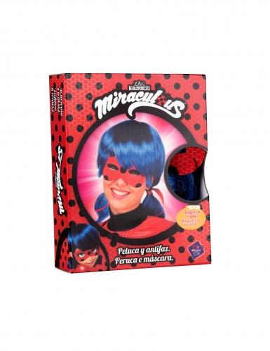 Cadeauverpakking Ladybug™ pruik en masker voor dames-1