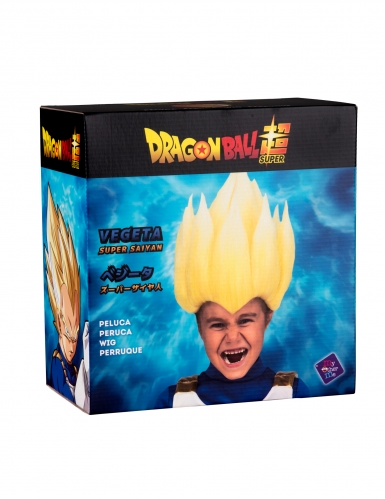 Super Saiyan Vegeta Dragon Ball™ pruik voor kinderen-1