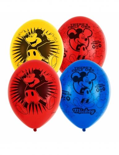 6 kleurrijke latex Mickey Mouse™ ballonnen