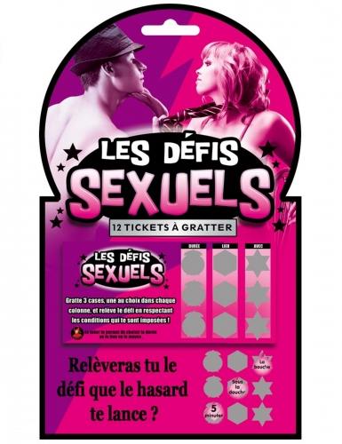 Les Défis Sexuels kras spel voor volwassenen