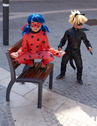 Luxe Miraculous - Ladybug™ kostuum met tas voor meisjes-2
