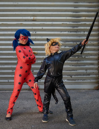 Luxe Miraculous - Ladybug™ kostuum met tas voor meisjes-3