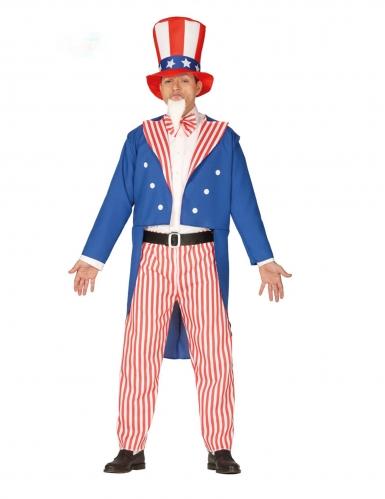 Amerikaanse patriot kostuum voor mannen