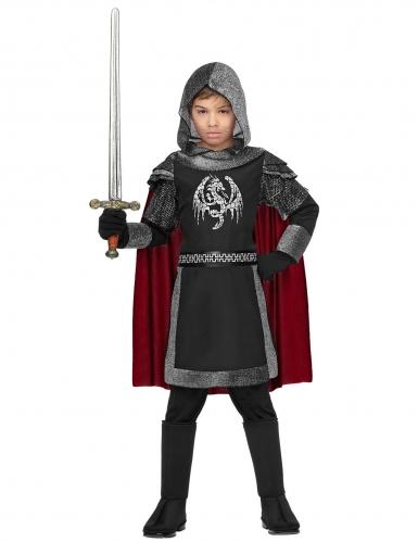Klassiek draken ridder kostuum voor kinderen-1