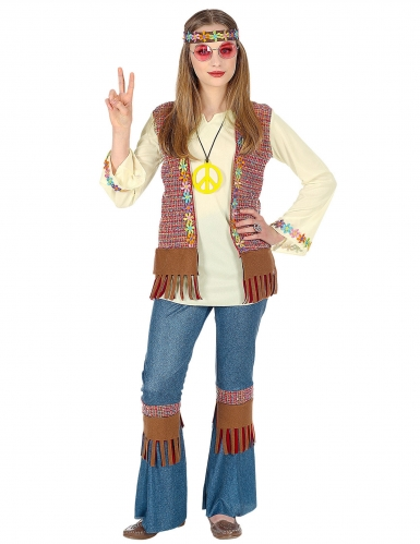 Love and Peace hippie outfit voor meisjes-1