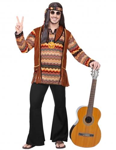 Back to the 60s hippie kostuum voor mannen