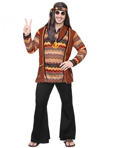 Back to the 60s hippie kostuum voor mannen-1