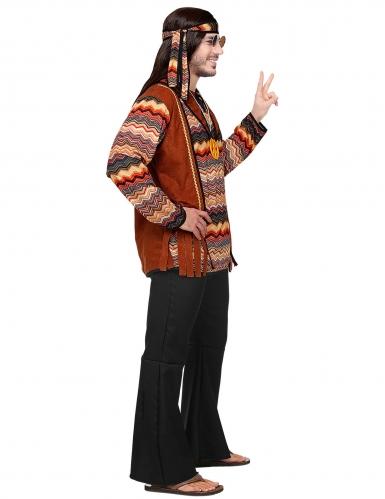 Back to the 60s hippie kostuum voor mannen-2