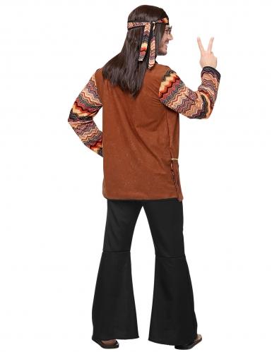 Back to the 60s hippie kostuum voor mannen-3