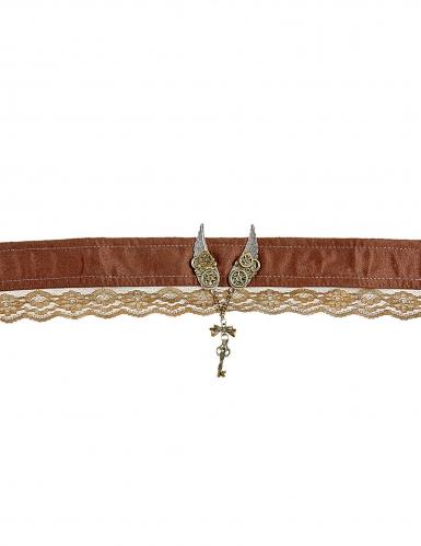 Elegante steampunk halsband voor volwassenen