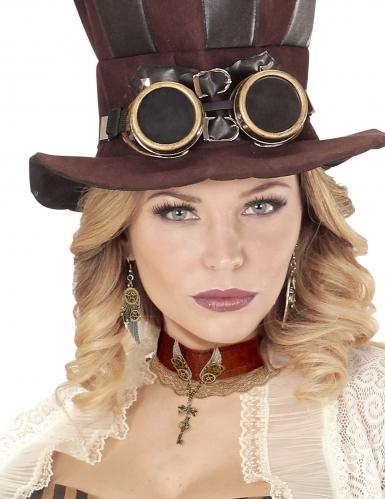 Elegante steampunk halsband voor volwassenen-1