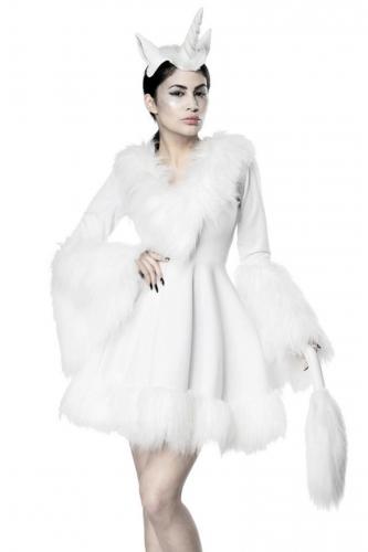 Sexy witte eenhoorn kostuum voor vrouwen