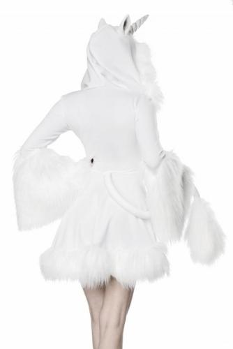 Sexy witte eenhoorn kostuum voor vrouwen-1