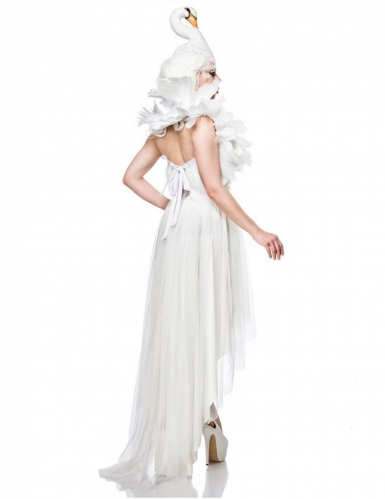 Sexy witte zwaan kostuum voor vrouwen-1