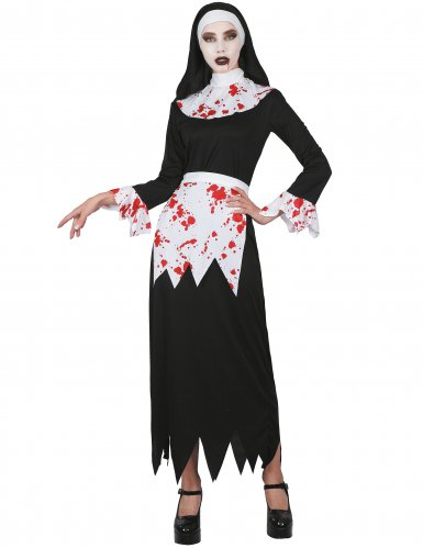 Enge bebloede non outfit voor vrouwen