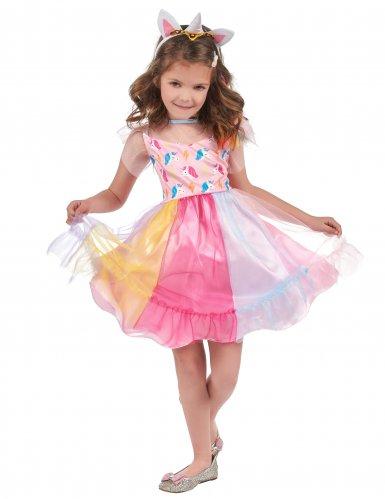 Veelkleurige magische eenhoorn outfit voor meisjes-1