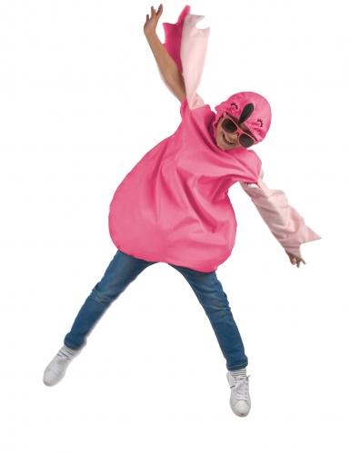 Roze flamingo outfit voor meisjes-1