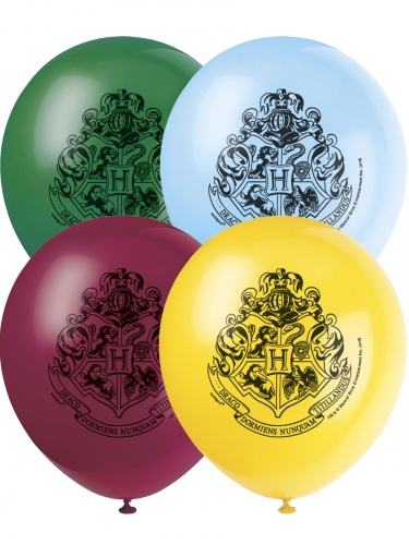 8 latex Harry Potter™ ballonnen
