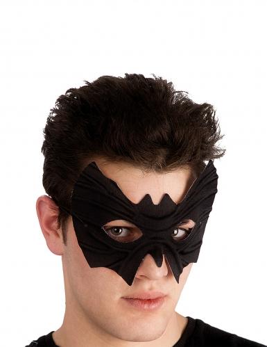 Vleermuis masker van stof met reliëf voor volwassenen