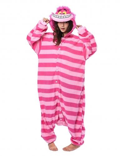 Cheshire Cat Alice in Wonderland™ Kigurumi™ pak voor volwassenen