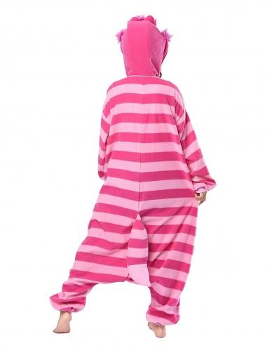 Cheshire Cat Alice in Wonderland™ Kigurumi™ pak voor volwassenen-1