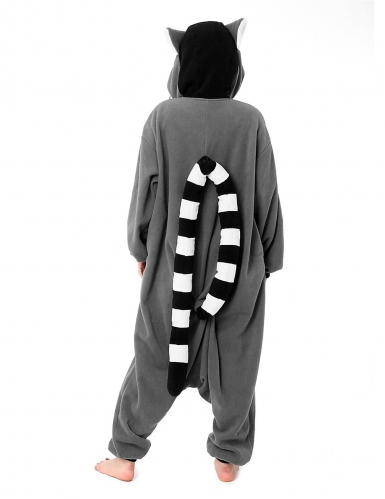 Kigurumi™ lemur pak voor volwassenen-1