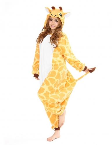 Kigurumi™ giraffe kostuum voor volwassenen