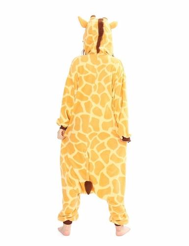 Kigurumi™ giraffe kostuum voor volwassenen-1
