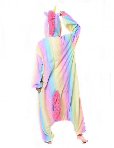 Kigurumi™ regenboog eenhoorn pak voor volwassenen-1