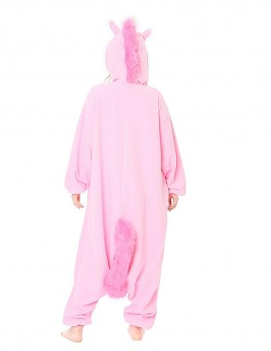 Roze eenhoorn Kigurumi™ pak voor volwassenen-1